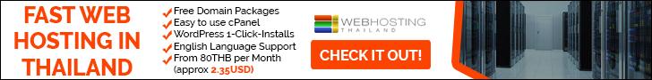 Thailand Webhosting